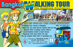 Bangkok Walking Tours is a map of Bangkok